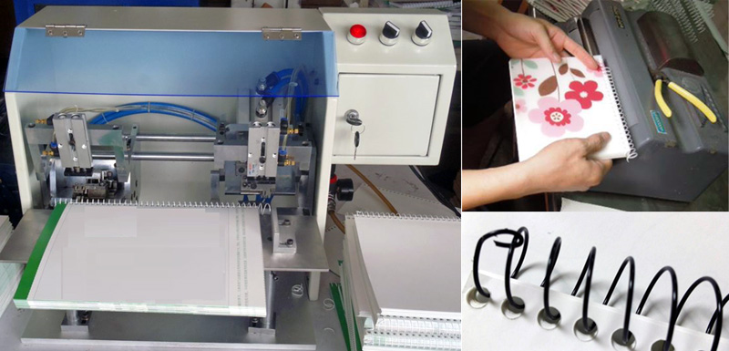 Single Spiral Binding Machine With Safety