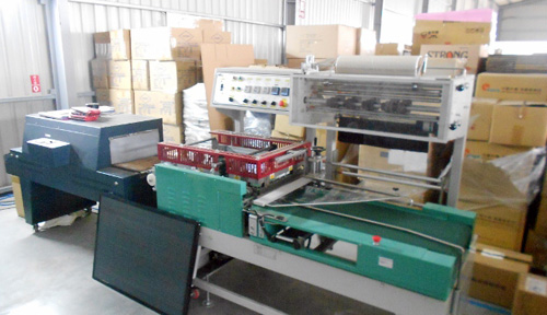 Shrink-Wrap Machine