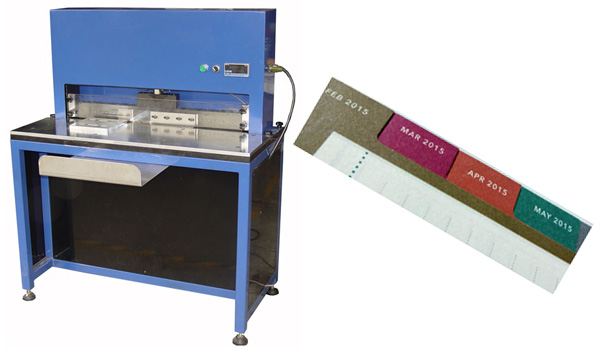 Mylar / Index Tab Punching Machine