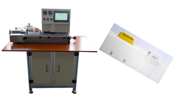 Mylar / Index Tab Lamination Machine